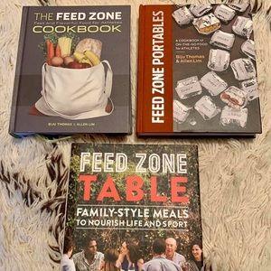 Other - Bundle of Feed Zone Cookbooks (Athletes)